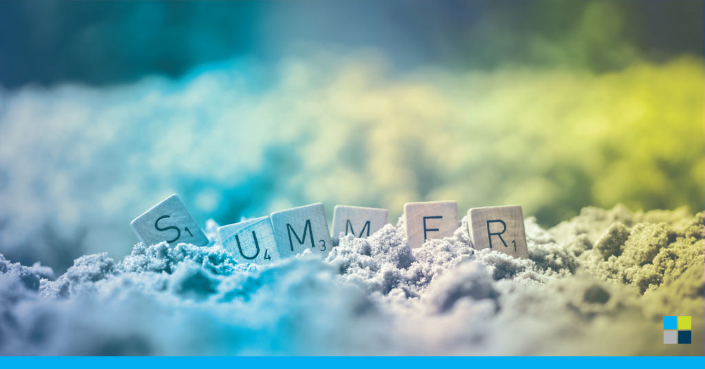 Summer written in sand and what we learned from the 2020 summer
