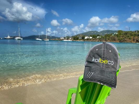 Kolbeco hat at St. Thomas